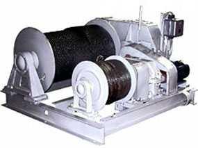 Лебедка электрическая ЛЭМ-15 (железнодорожная)