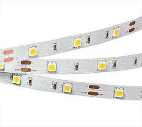 Лента светодиодная RT 2-5000 12V White (5060, 150 LED, LUX) - Arlight