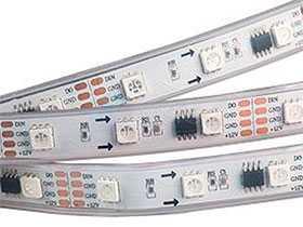 Лента светодиодная SPI-5000P 12V RGB (5060, 240 LED x3,1804) - Arlight