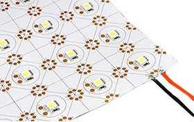 Лист светодиодный LX-500 12V Cx1 Day White (5050, 105 LED) - Arlight