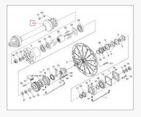 Вал карданный телескопический с защитным кожухом (привод ротора) ПКК 0141100