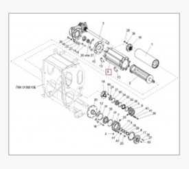 Валец детекторный ПКК 0108001 - ГОМСЕЛЬМАШ