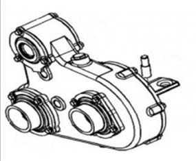 Редуктор верхних вальцев КВС-2-0112000 - ГОМСЕЛЬМАШ