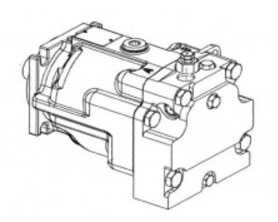Гидромотор привода питающего аппарата КВС-2-0604210 - ГОМСЕЛЬМАШ