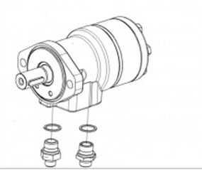 Гидромотор КЗК-12-1790990А - ГОМСЕЛЬМАШ