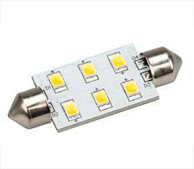 Автолампа ARL-F42-6E Warm White (10-30V, 6 LED 2835) - Arlight
