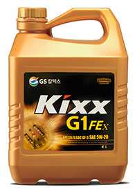 Масло моторное KIXX G1 FEx API SN 5W-20, 4 л - ЛЛК-Интернешнл