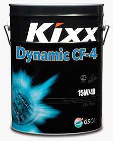Масло моторное KIXX DYNAMIC API CF-4/SG 15W-40, 20 л - ЛЛК-Интернешнл
