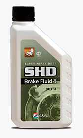 Тормозная жидкость BRAKE FLUID SHD, 0,5 л - ЛЛК-Интернешнл