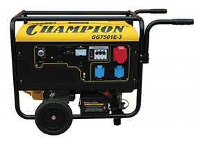 Генератор бензиновый CHAMPION GG7501E-3 - CHAMPION