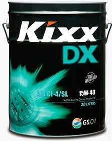 Масло моторное KIXX DX API CI-4/SL 15W-40, 20 л - ЛЛК-Интернешнл