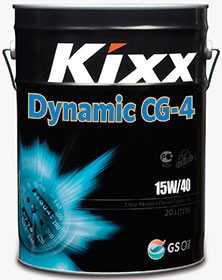 Масло моторное KIXX DYNAMIC API CG-4 15W-40, 20 л - ЛЛК-Интернешнл