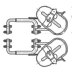 Когти раздвижные для подъёма на опоры КРПО У1 - Завод Энергооборудование