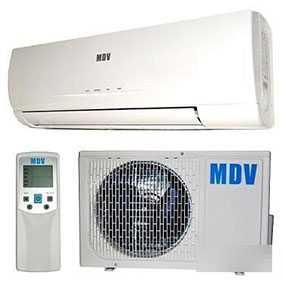 Сплит-система настенная MDV MDSR-09HRN1/MDOR-09HN1 - Midea Holding Co., Ltd. (Китай)