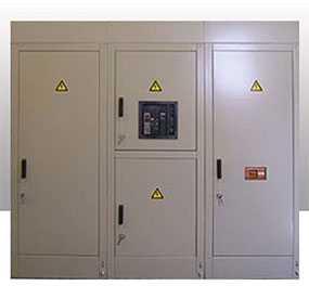Распределительное устройство со стороны низшего напряжения (РУНН) - Завод Энергооборудование