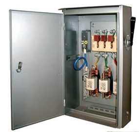 Ящик с трёхполюсным рубильником и предохранителями типа ЯРВ-200 - Завод Энергооборудование