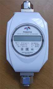 Счетчик газа бытовой ультразвуковой РБГ У G-1,6 - Русбелгаз