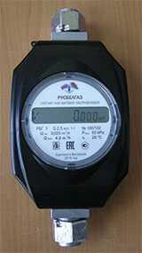 Счетчик газа бытовой ультразвуковой РБГ У G-2,5 - Русбелгаз