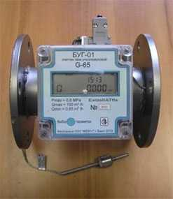 Счетчик газа промышленный ультразвуковой БУГ-0,1 G65 - Русбелгаз