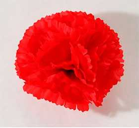 Головка цветочная искусственная Гвоздика средняя 13 - ДИШЕР
