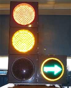 Светофор транспортный светодиодный с дополнительной секцией - Амониер ООО