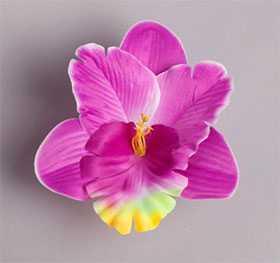 Головка цветочная искусственная Орхидея декоративная 34 - ДИШЕР