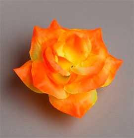 Головка цветочная искусственная Роза малая Бьянка 42 - ДИШЕР