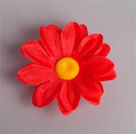 Головка цветочная искусственная Гербера мини 65 - ДИШЕР