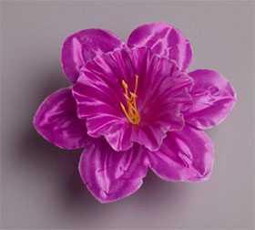Головка цветочная искусственная Нарцисс малый атласный 7 - ДИШЕР