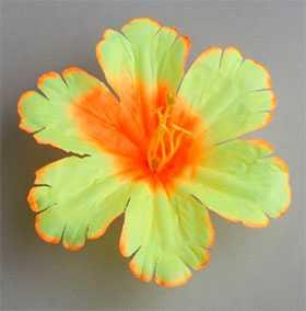Головка цветочная искусственная Мальва резная 80 - ДИШЕР