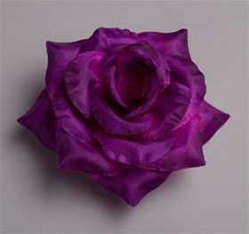 Головка цветочная искусственная Роза большая ткань 98 - ДИШЕР