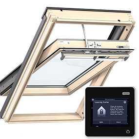 Мансардное окно VELUX PREMIUM (Велюкс Премиум) Комфорт INTEGRA GGL 307021 (с дистанционным управлением) - VELUX