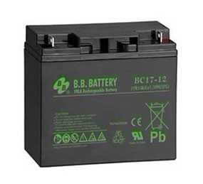 Аккумулятор BB Battery BC17-12 - B.B. Battery Co., Ltd