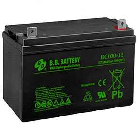 Аккумулятор BB Battery BC100-12 - B.B. Battery Co., Ltd
