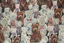 Ткань Гобелен Мишки