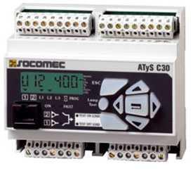 Переключатель (реле контроля) SOCOMEC ATyS C30 - SOCOMEC