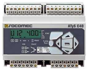 Переключатель (реле контроля) SOCOMEC ATyS C40 - SOCOMEC