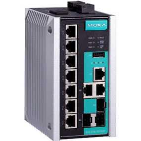 Коммуникатор промышленный EDS-510E-3GTXSFP - MOXA