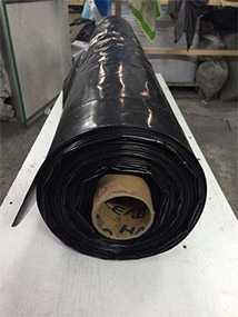 Пленка полиэтиленовая вторичная с фальцовкой 120 мкм х 3 м (3000мм) - ЭВЕРПЛАСТ
