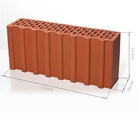 Блок поризованный керамический 7,1 НФ - Braer