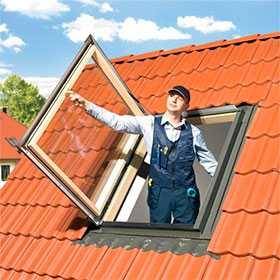 Выход на крышу WGI с закаленным стеклом - FAKRO