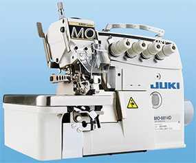 Стачивающе-обметочная машина (оверлок) Juki (Джуки) MO-6843D