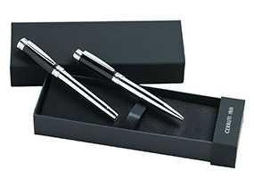 Набор: 2 ручки CERRTI в футляре, артикул ns5550bp