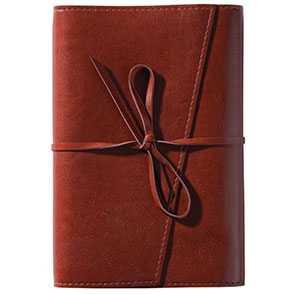 Ежедневник NEBRASKA, в мягкой обложке, недатированный, коричневый, артикул gf4861