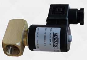 Клапан отсечки электромагнитный EVRM – NA, МАDAS, размерный ряд с DN10 по DN200 (латунь)