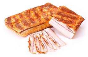 Продукт из шпика Грудинка Тарасовская - Брестский мясокомбинат