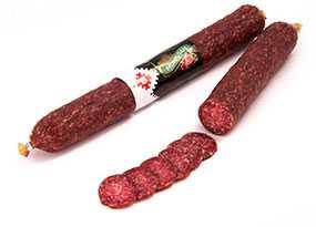 Колбаса сырокопченая Монблан - Брестский мясокомбинат