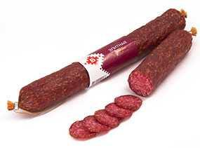 Колбаса сырокопченая Элитная - Брестский мясокомбинат