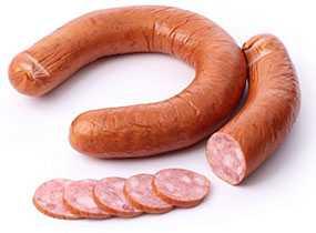 Колбаса полукопченая Кубанская - Брестский мясокомбинат