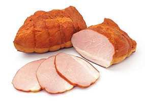 Продукт из свинины копчено-вареный Окорочок Барский Люкс - Брестский мясокомбинат